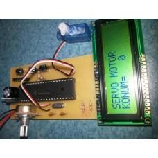 v1.0 Servo Motor Kontrol