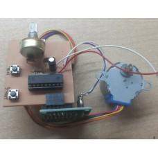 v4.0 Redüktörlü Step Motor Kontrol