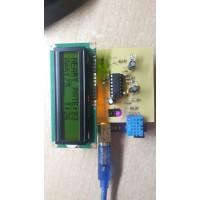 v10.2 Arduino TCRT5000 LCD Nabız Nem Sıcaklık Ölçer
