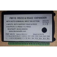 PM110 RS232 RS422 NMEA 0183 EXPANDER WITH AUTO INPUT SELECTION to 8 OUTPUTS