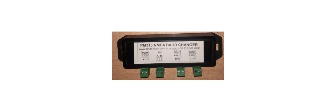 PM313 NMEA BAUD RATE DOWN CONVERTER