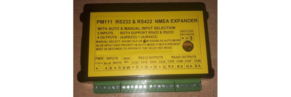 PM111 AUTO  NMEA BUFFER SELECTOR