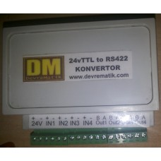 PM001 24V TTL to RS422 Çevirici