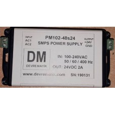 PM102-48S24 24VDC 2.0A SMPS POWER SUPPLY