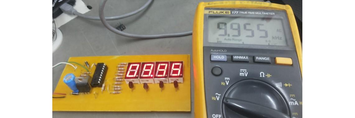 v1.0 Frekansmetre 4 Digit