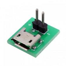 Micro usb to sil soket 2 pin
