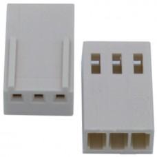 3 Pin 2.54mm Dişi Konnektör Pinsiz