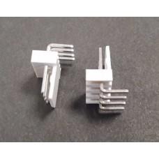 4 Pin 2.54mm Erkek Konnektör 90 derece