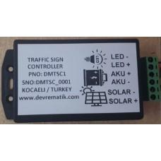 SA01 Solar Şarj ve Led Trafik İşaret Kontrol
