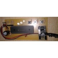 V1.0 NRF24L01 3 led 3 buton